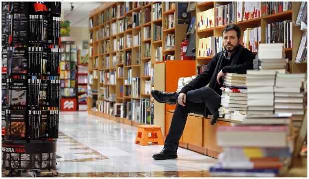 Vicente Luis Mora retratado por Valerio Merino