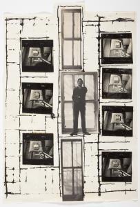 Una fotografía de William burroughs