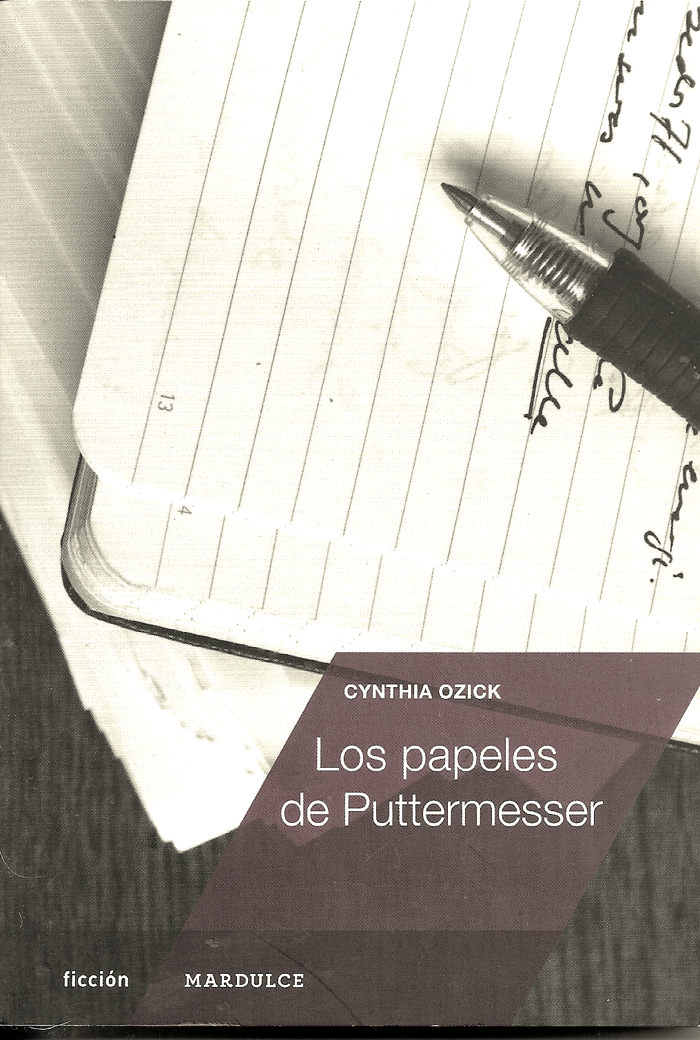 Los papeles de Puttermesser bn - Cynthia Ozick