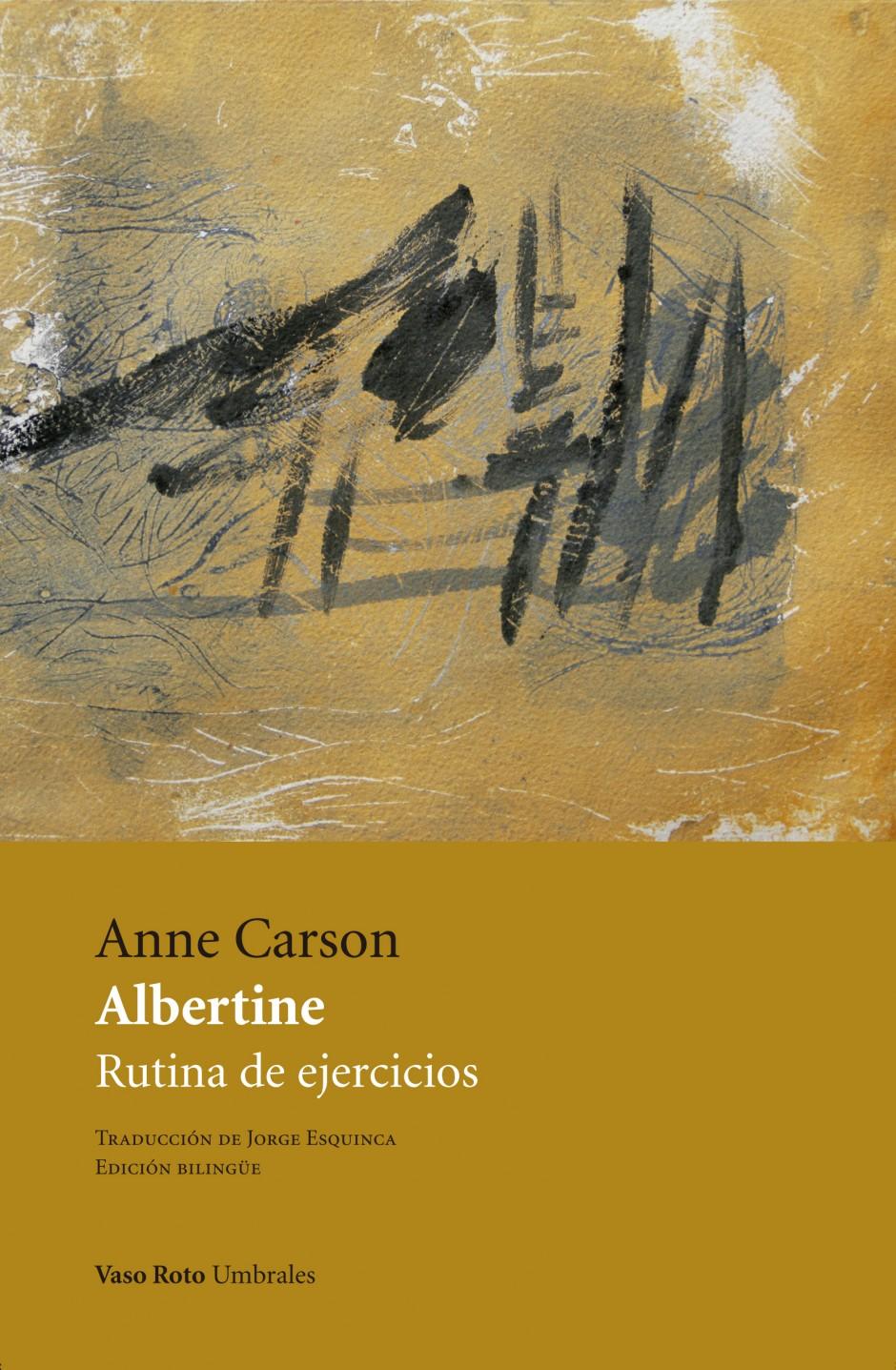 Albertine, de Anne Carson