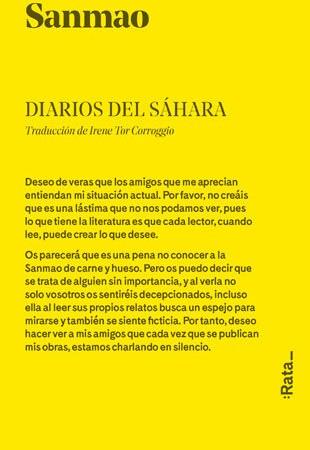 diarios del sahara